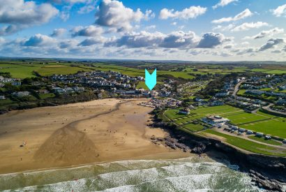 Driftwood and Hideaway, luxury self-catering apartments with roof garden in Polzeath, North Cornwall