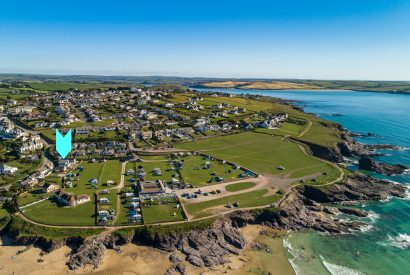 Drum Fish is a luxury holiday home above Polzeath beach, North Cornwall