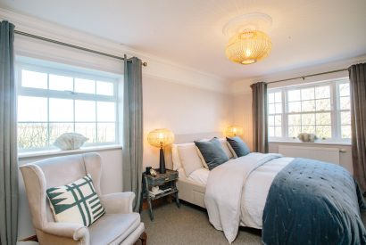 Bedroom at Kernow House, a self-catering holiday home in Rock, North Cornwall