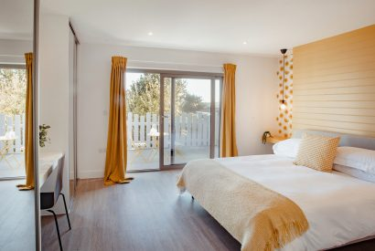 Master bedroom at Lowena, a self-catering holiday home in Polzeath, North Cornwall
