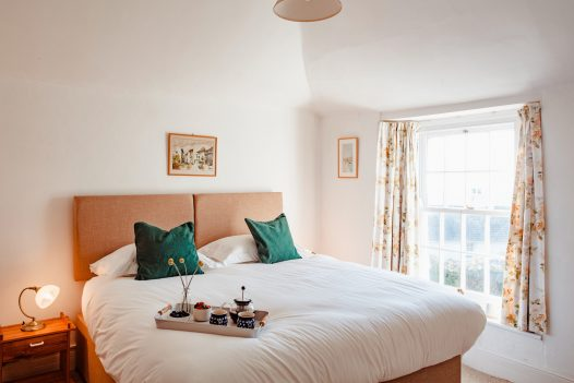 Bedroom two at Lower Farm, a self-catering holiday home in Daymer Bay, North Cornwall