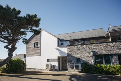 Exterior of No 6 Tregales, a self-catering holiday cottage in New Polzeath, North Cornwall