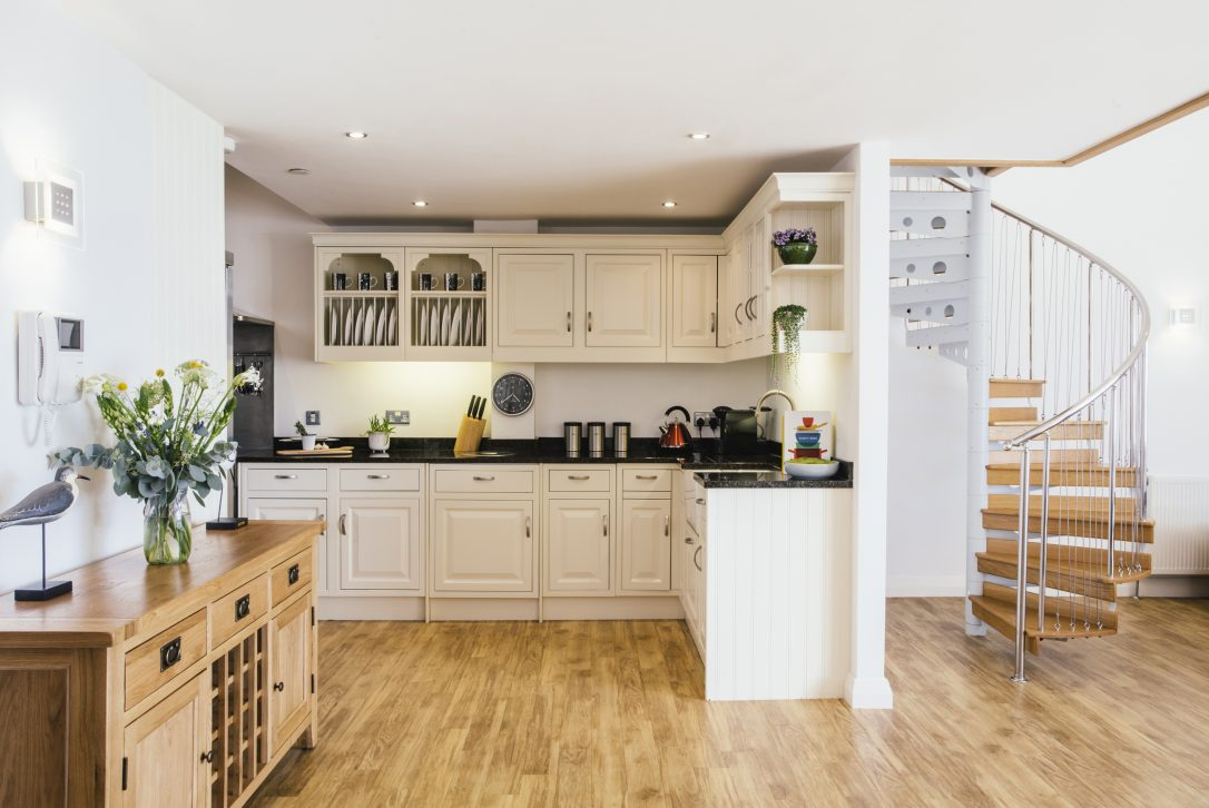 Kitchen at Orchard House, a self-catering holiday cottage in Rock, North Cornwall