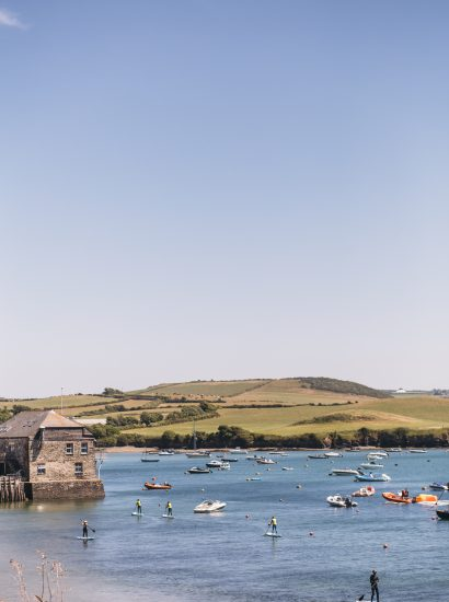 View of the Camel Estuary from Orchard House, a self-catering holiday home in Rock, North Cornwall