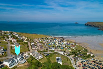 Parker's Place is a luxurious holiday home above Polzeath beach, North Cornwall