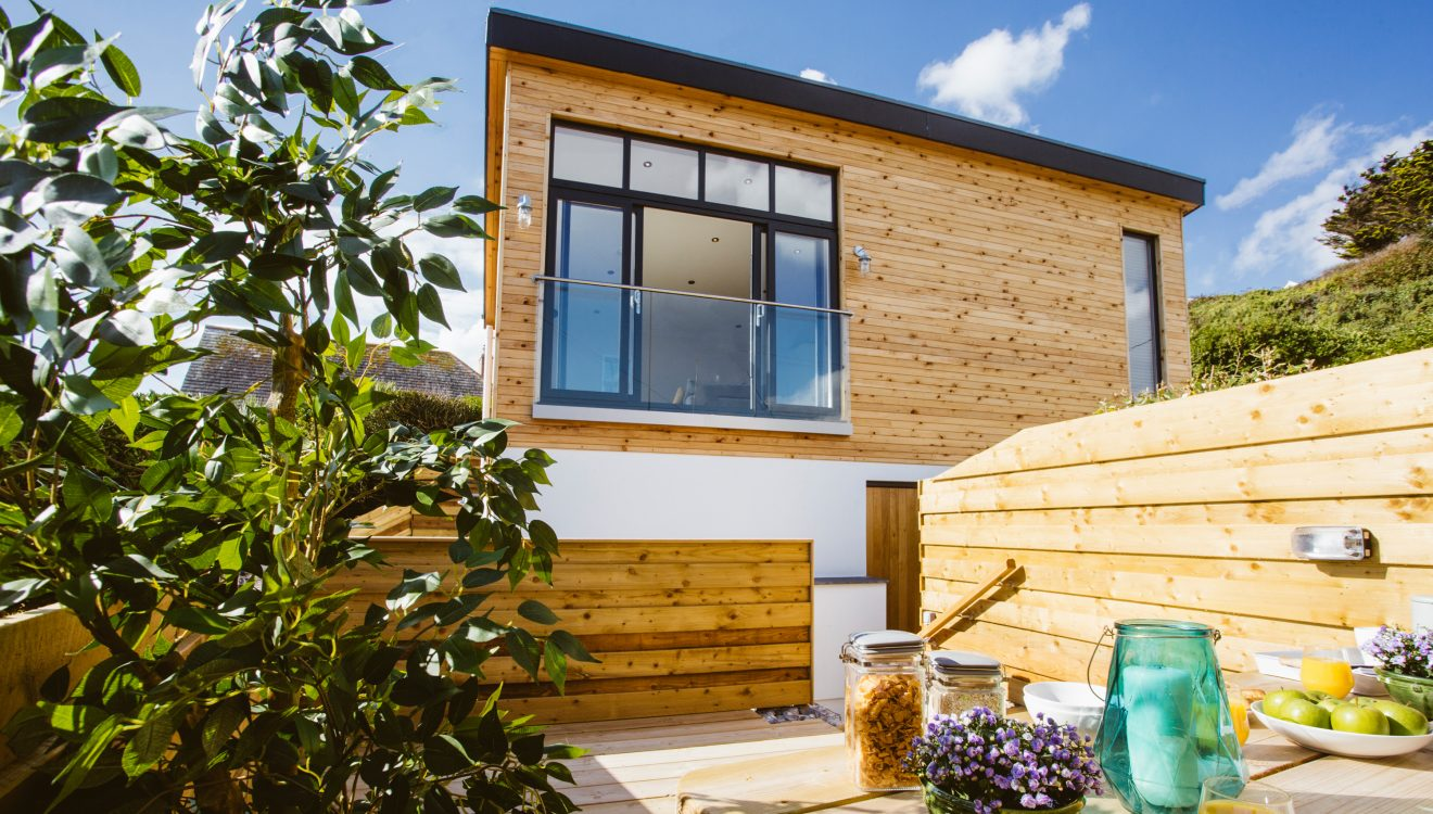 Exterior of Seabreeze, a self-catering holiday cottage in Polzeath, North Cornwall