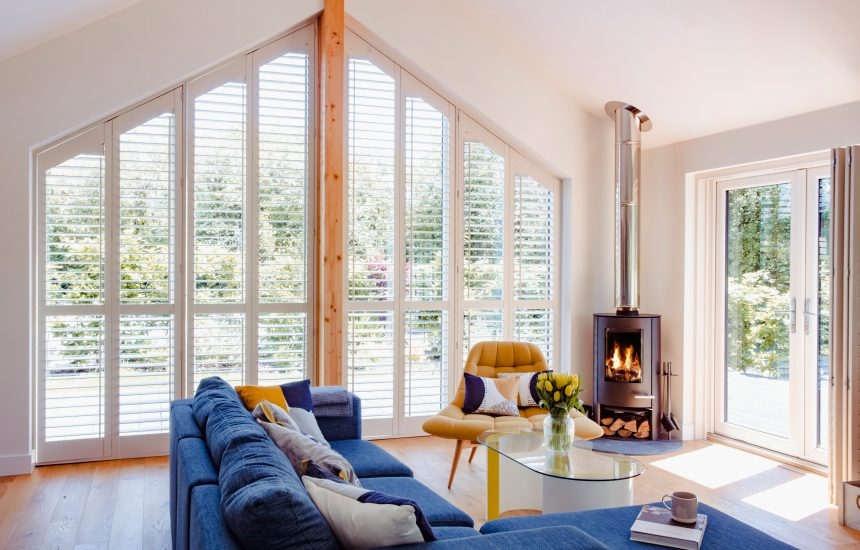 Living room at Skovva, a self-catering holiday home in Rock, North Cornwall