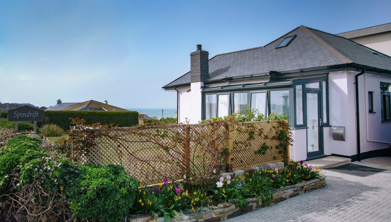 Spindrift, a self-catering holiday home in Polzeath, North Cornwall