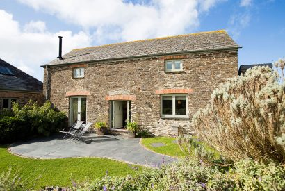 The Barn, a self-catering holiday home near Polzeath, North Cornwall
