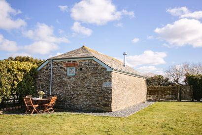 The Tractor Shed, a self-catering holiday home in Polzeath, North Cornwall