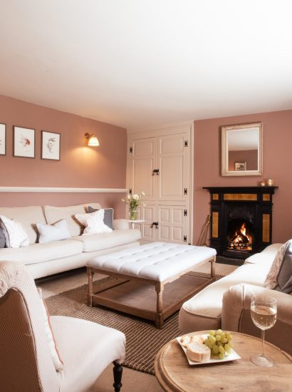 Treglyn Farmhouse, a self-catering holiday home near Rock and Wadebridge, North Cornwall