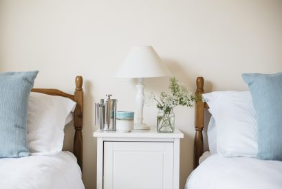 Bedroom four at Troy, a self-catering holiday home in Polzeath, North Cornwall