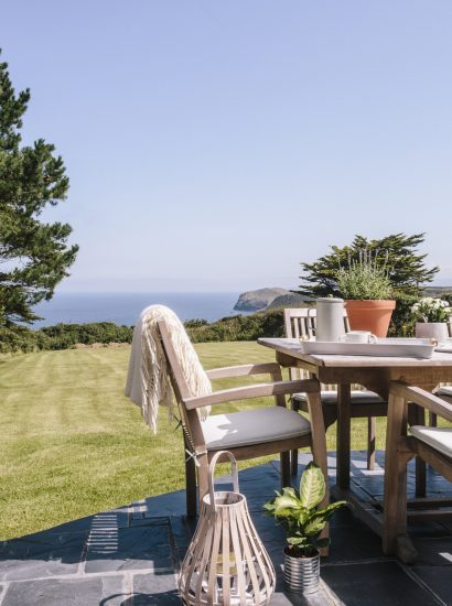 Garden at Troy, a self-catering holiday home in Polzeath, North Cornwall