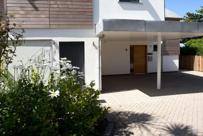 Front of Ambrose, a self-catering holiday cottage in New Polzeath, North Cornwall