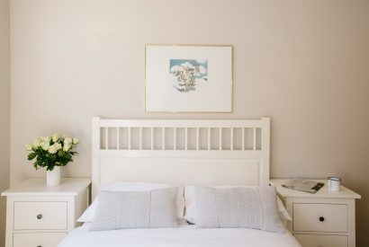 Bedroom one (master) at Cothelstone, a self-catering holiday home in Polzeath, North Cornwall