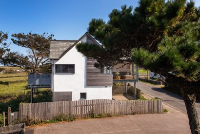 View of Endymion, a self-catering holiday home in New Polzeath, North Cornwall