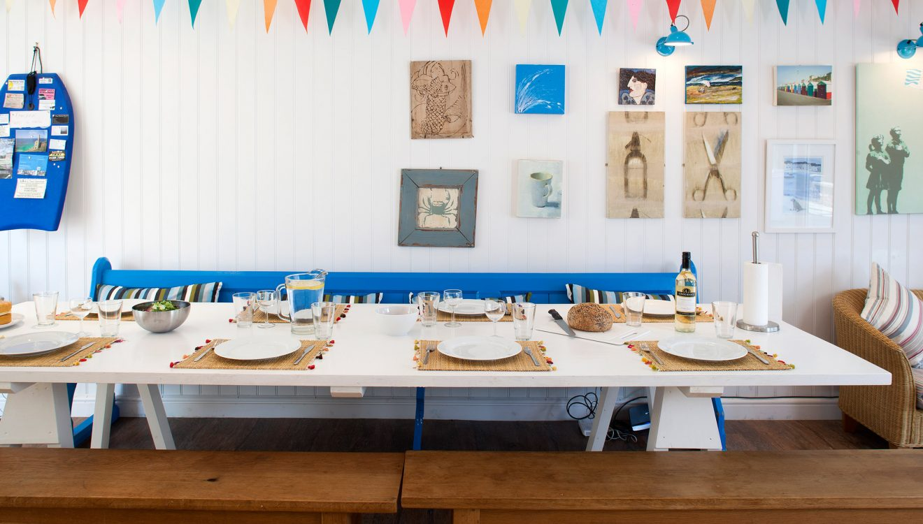 Dining area at Fairfax, a self-catering holiday cottage in Rock, North Cornwall