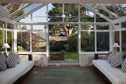 Sun room at Fairfax, a self-catering holiday home in Rock, North Cornwall