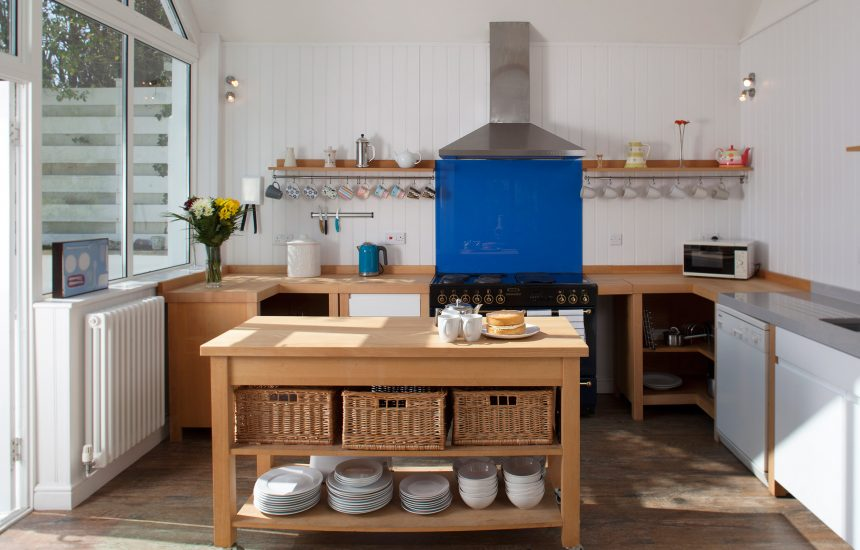 Kitchen at Fairfax, a self-catering holiday cottage in Rock, North Cornwall