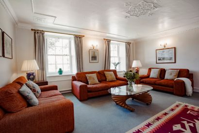 Lounge at Lynam, a self-catering holiday home in Rock, North Cornwall