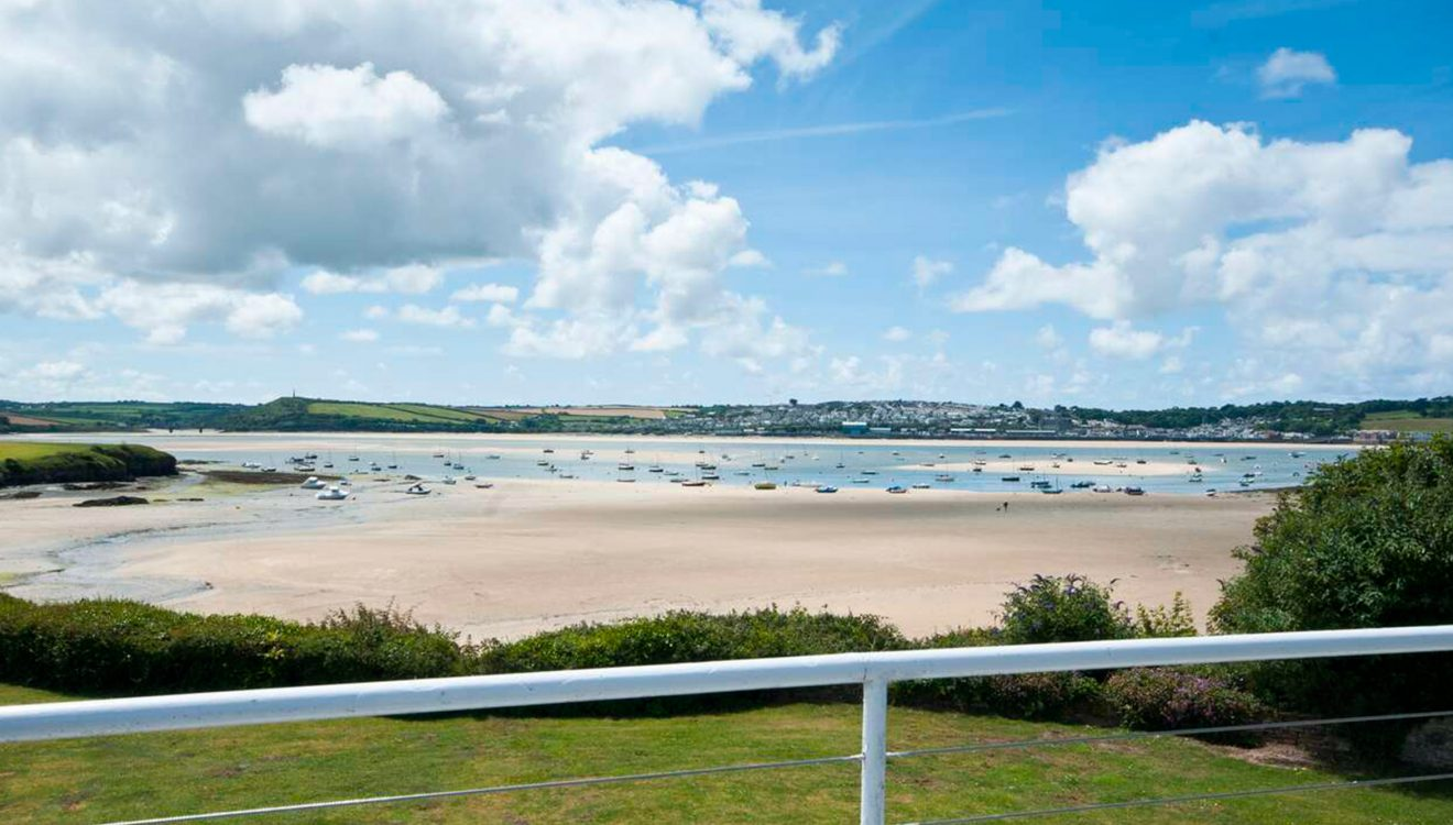 View from Mullets, a self-catering holiday cottage in Rock, North Cornwall