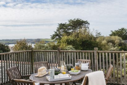 Outdoor furniture at Padilly, a self-catering holiday cottage in Rock, North Cornwall