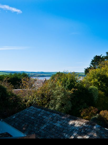 Roof terrace at Padilly, a self-catering holiday cottage in Rock, North Cornwall