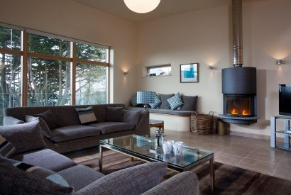 Lounge at Radoon a self-catering holiday property in Rock, North Cornwall
