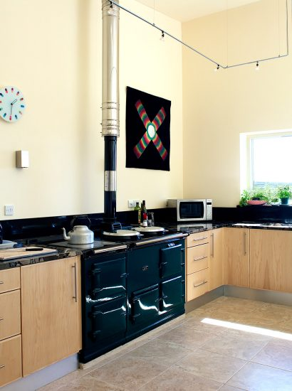 Kitchen at Radoon, a self-catering holiday home in Rock, North Cornwall