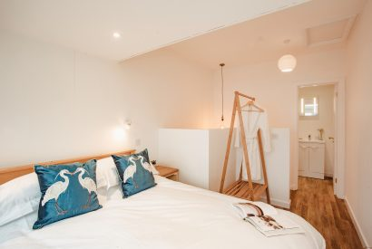 Bedroom six at Seaview, a self-catering holiday home in Polzeath, North Cornwall