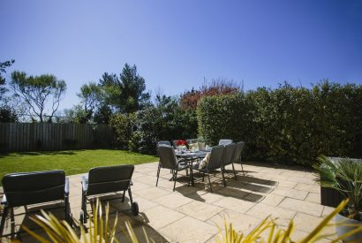 Outside at Slipper Rock, a self-catering holiday home in Rock, North Cornwall