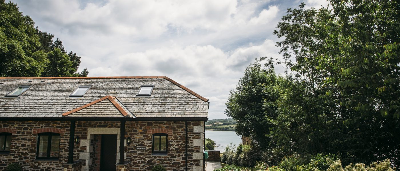 Exterior of The Orchard, a self-catering holiday property in Rock, North Cornwall