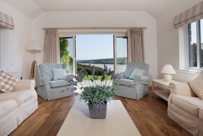 Lounge at The Orchard, a self-cateing holiday house in Rock, North Cornwall