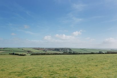 View from Upper Pen-y-Bryn a self-catering holiday home in Daymer Bay, North Cornwall